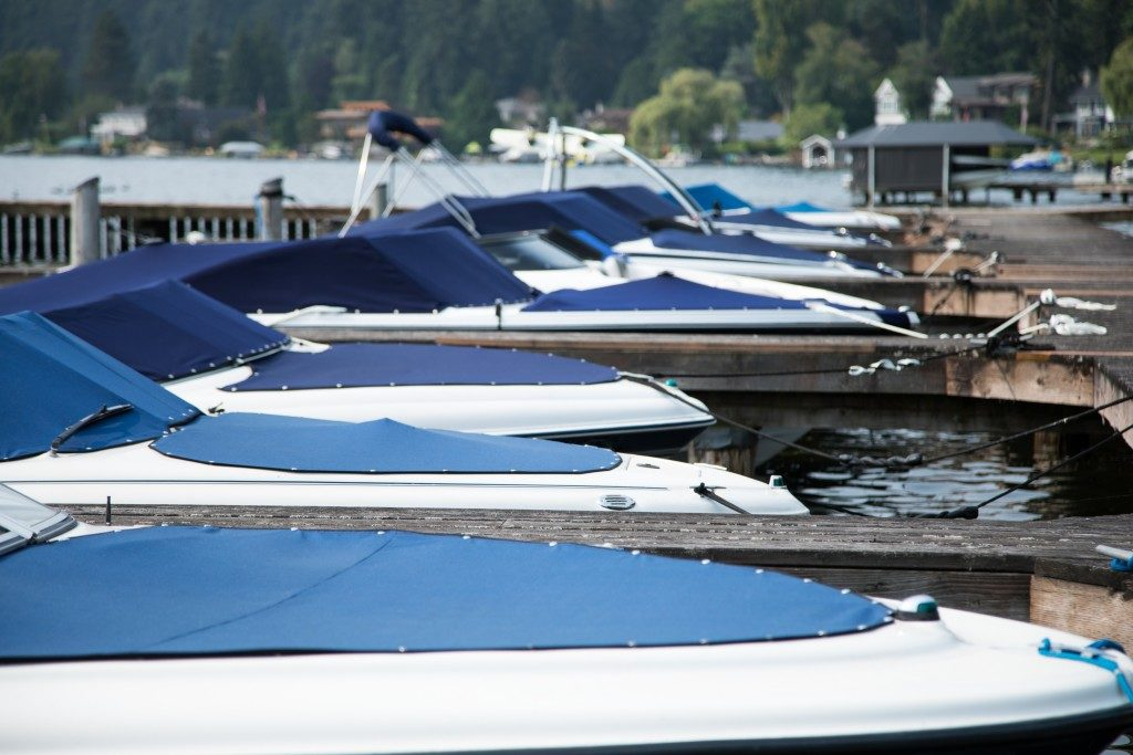 Boats on the docks